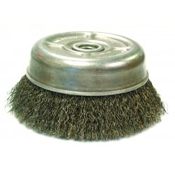 Anderson Brush - 10183 - Uc3s 2-3/4x.014 Knot Wheel Brush 1/2-3/8 Thr