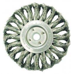 Anderson Brush - 13613 - Ts4s .0118/ss Knot Wheelbrush 1/2-3/8 Arb