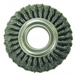 "Anderson Brush - 14874 - Tw6 6""dia Wide Face Knottype Wire Wheel"