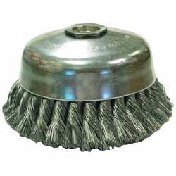 Anderson Brush - 17455 - Anderson Products 6' X 5/8' - 11 Steel Knot Wire Cup Brush, ( Each )
