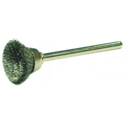 "Anderson Brush - 22890 - Mu8s .005x9/16"" Ss Cup Brush Miniature"