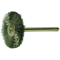 "Anderson Brush - 22970 - Mw12s 3/4""dia. Mininiature Crimped Wire Wheel"