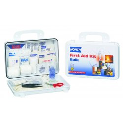 North Safety / Honeywell - 019703-0002L - First Aid Kit, Kit, Steel Case Material, General Purpose, 25 People Served Per Kit