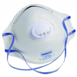 North Safety / Honeywell - 7140N95 - Respirator N95 Disposable With Valve North Niosh, 10/bx