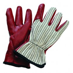North Safety / Honeywell - 85/3729L - Worknit Cut And Sewn Nitrile Gloves W/ Blk Strip