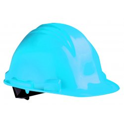 North Safety / Honeywell - A79R010000 - Front Brim Hard Hat, 4 pt. Ratchet Suspension, White, Hat Size: Universal