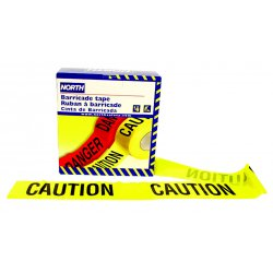 "North Safety / Honeywell - CT3YE1 - 3""x1-000' .020 Barricadetape Caution-cau"