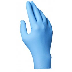North Safety / Honeywell - LA049/M - Disposable Gloves, Nitrile, 8, Blue, PK100