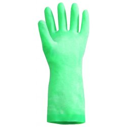 North Safety / Honeywell - LA132G/10 - Nitri-guard Nitrile Gloves Green 15 Mil