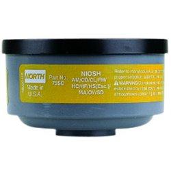 North Safety / Honeywell - N75001 - Respirator Organic Vapor Cartridge North, Pk