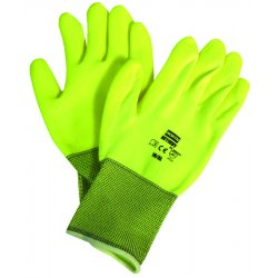 North Safety / Honeywell - NF11HVY/11XXL - Coated Gloves, XXL, Hi Vis Yellow, PR