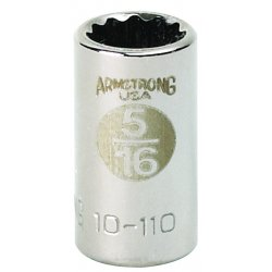 Allen Tool - 10-016A - Skt 1/4dr 6pt 1/2