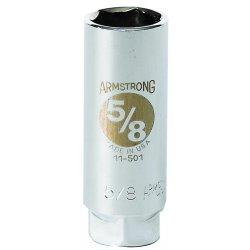 "Armstrong Tools - 11-504 - 3/8"" Dr Spark Plug Socket 13/16"" Opg-"