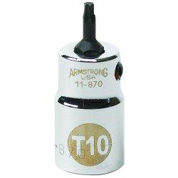 """Armstrong Tools - 11-880 - 3/8"""" Dr Torxdrvr- T30 Bit Std Bit- Ch"""