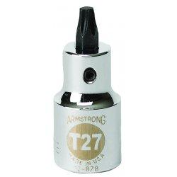 """Armstrong Tools - 12-882 - 1/2"""" Dr Torxdrvr- T40 Bit Std Bit- Ch"""