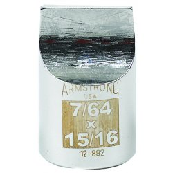 "Armstrong Tools - 12-892 - 1/2"" Dr Drag Link Socket7/64 X 15/1"