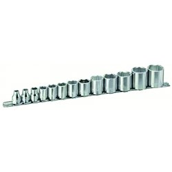 "Armstrong Tools - 15-360 - 13 Pc 3/8"" Dr 6 Pt Socket Set"