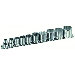 "Armstrong Tools - 15-365 - 10 Pc. 3/8"" Drive 12 Pt.socket Set"