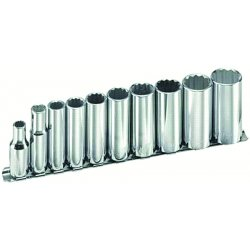 "Armstrong Tools - 15-385 - 10pc 3/8"" Drive Socket Set 12pt Dp"