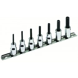 "Armstrong Tools - 15-440 - 7 Pc. Hex Bit Set Socket3/8"" Dr."