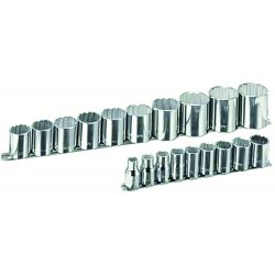 "Armstrong Tools - 15-545 - 19 Pc. 12 Pt 1/2"" Drivesocket Set"