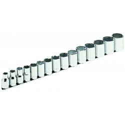 Armstrong Tools - 15-560 - 15 Pc. 1/2 Dr. 6 Pt.socket Set