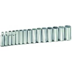Armstrong Tools - 15-575 - 15-pc. Socket Set 1/2dr12pt Dp