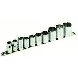 "Armstrong Tools - 15-585 - 10 Pc 8 Pt 1/2"" Dr Socket Set"