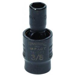 "Armstrong Tools - 19-568 - 3/8"" Dr Power Skt- 9/16""6-pt Flex-"