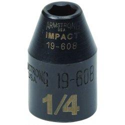 "Armstrong Tools - 19-612 - 3/8"" Impact Socket 3/8""drive 6pt"