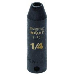 "Armstrong Tools - 19-718 - 9/16"" 3/8"" Drive 6 Ptimpact Socket"