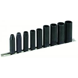 "Armstrong Tools - 19-895 - 9 Pc. 3/8"" Dr 6pt Impactsocket Set"