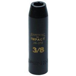 "Armstrong Tools - 20-226 - 1/2"" Dr Impact Skt- 13/16"" 6-pt Deep-"