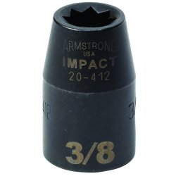 Armstrong Tools - 20-428 - 1/2IN DR IMPACT SKT7/8IN8PO (Each)