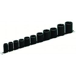 "Armstrong Tools - 20-893 - 1/2"" Dr Impact Socket Set 11 Skts- Ba"