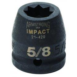 "Armstrong Tools - 21-434 - 3/4"" Dr Impact Skt-1-1/16"" 8-pt Std- B"