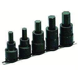 "Armstrong Tools - 21-899 - 3/4"" Dr Impact Socket Set 5 Hexdrvrs-"