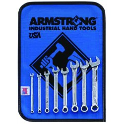 Armstrong Tools - 25-602 - Dwos 8 Pc. 6 Pt Short Combination Wrench Set