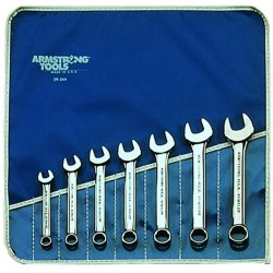 Armstrong Tools - 25-609 - Comb. Wrench Set- Chrome7 Wrs- Roll