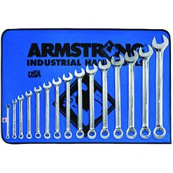 Armstrong Tools - 25-642 - 15 Pc. Fp Comb. Wrenchset