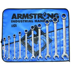 Armstrong Tools - 25-667 - 10 Pc Geared Comb Wrenchset