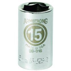 """Armstrong Tools - 39-013 - 1/2"""" Dr Socket- 13mm Opg6-pt Std- C"""