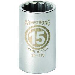 """Armstrong Tools - 39-136 - 1/2"""" Dr Socket- 36mm Opg12-pt Std-"""