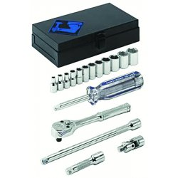 Armstrong Tools - 44-210 - 17-Piece, 1/4 inch drive, Socket Set