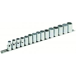 "Armstrong Tools - 44-545 - 15pc Socket Set 1/2"" Drive 6pt"