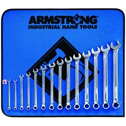 Armstrong Tools - 52-627 - 14-pc. Metric Combination Wrench Set-6mm-19m