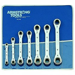 Armstrong Tools - 54-608 - Metric Ratcheting Box Wrench Sets (Pack of 1)