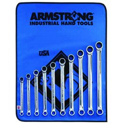 Armstrong Tools - 54-609 - 10PC METRIC GEARED BOXWRENCH (Pack of 1)