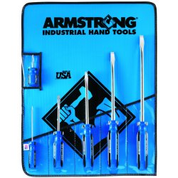 Armstrong Tools - 66-608 - 6-pc Std. Round Screwdriver Set