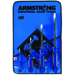 Armstrong Tools - 66-610 - 4-pc Std. Square Screwdriver Set Plastic